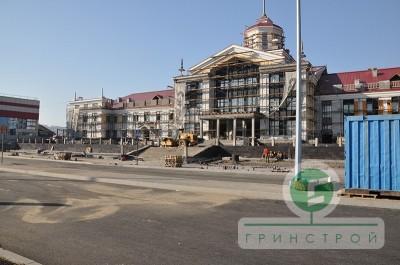 Благоустройство ж/д вокзала г.Новокузнецк