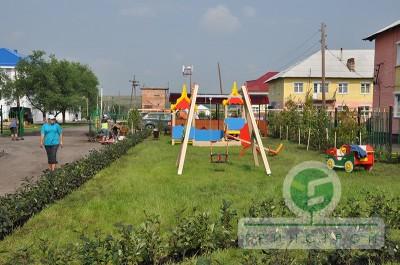 Благоустройство детского сада