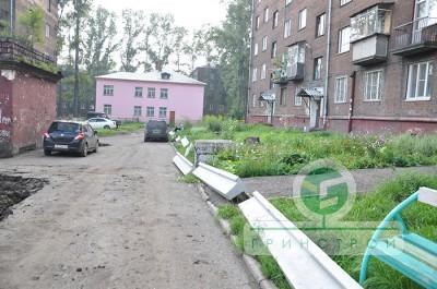 Благоустройство дворов г. Новокузнецка