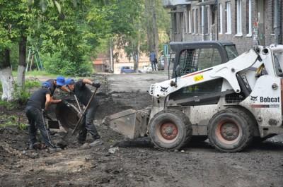 Благоустройство дворов г. Новокзнецк