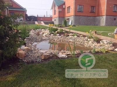 Частное озеленение: водоемы